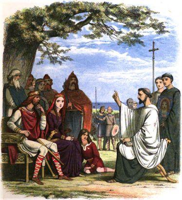 Augustine Preaching Before King Ethelbert