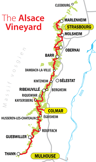 wine route map
