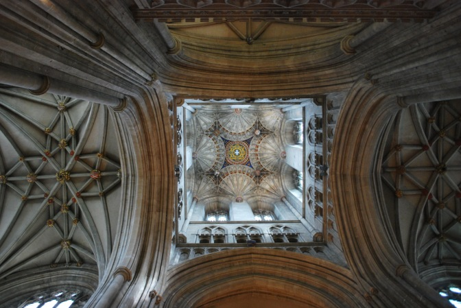 Ceiling of the cathedral
