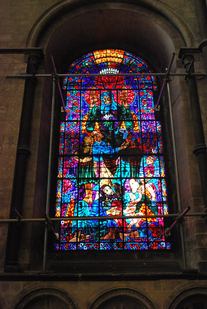 Bossanyi window - stained glass