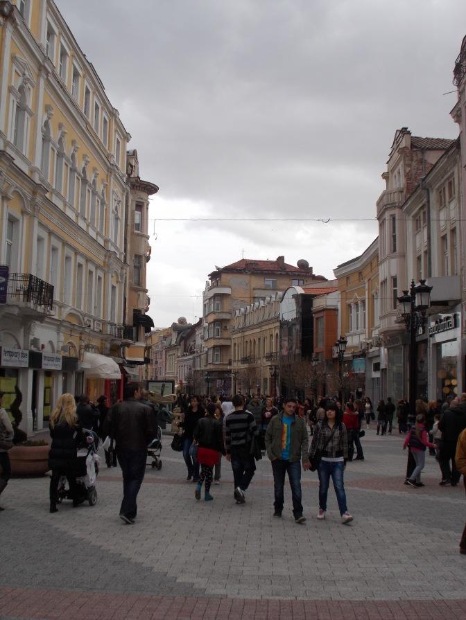 Plovdiv Shopping Street
