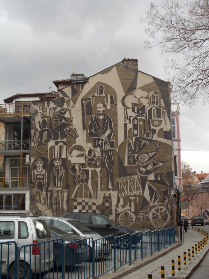 Hristo Dano mural
