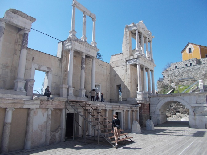 Wandering the Roman Theatre