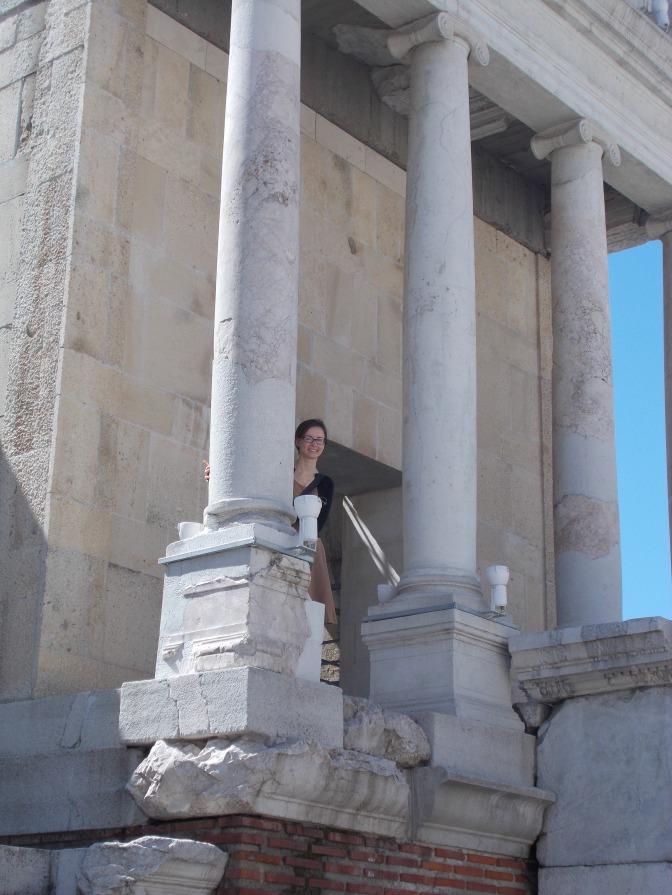 Plovdiv theatre ruins