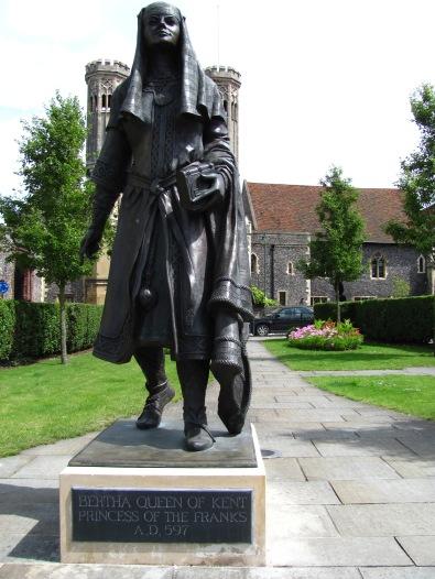 Statue of Bertha, Queen of Kent