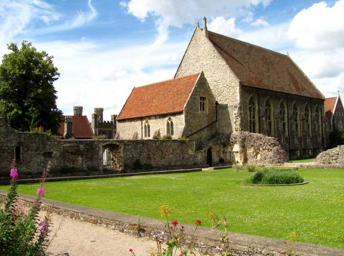St. Augustine's Abbey and nearby chapel