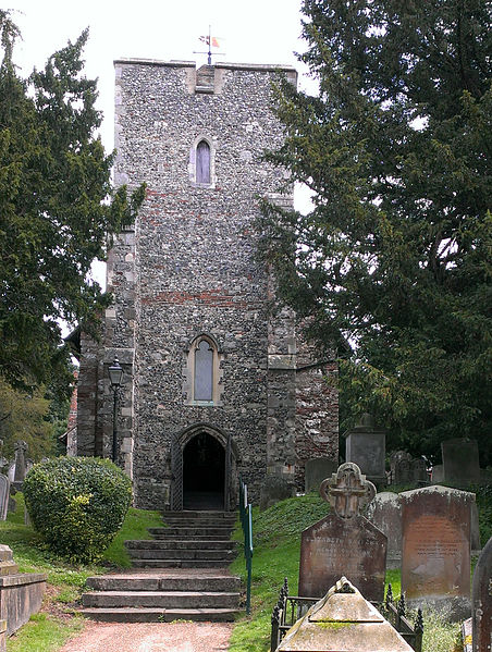 west front of St. Martin's church