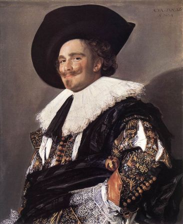 The Laughing Cavalier, Frans Hals, 1624