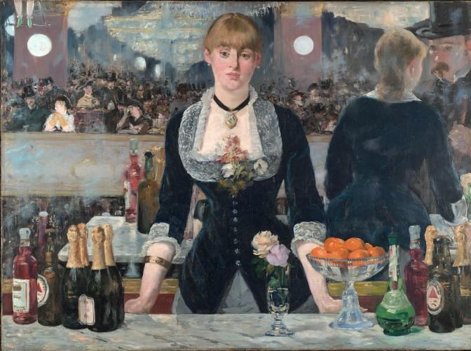 A Bar at the Folies Bergère, Edouard Manet, 1881-2