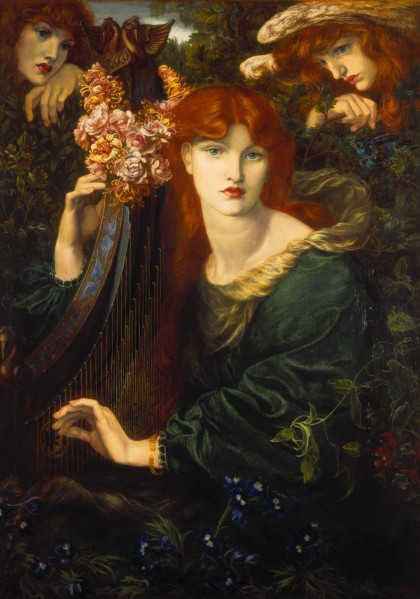 La Ghirlandata, Dante Gabriel Rossetti, 1873