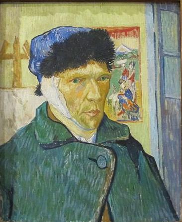 Self Portrait, Vincent van Gogh, 1889